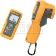 fluke multimetre temperatura termoviziune masurator distanta laser termometru 414d62max kit - 1