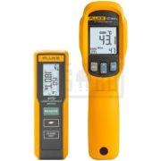 fluke multimetre temperatura termoviziune masurator distanta laser termometru flk 417d  62max kit - 1